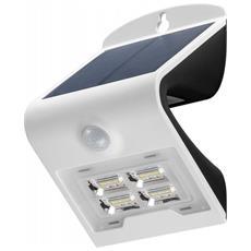 I-HLED-OWL-2WW - Lampada LED Solare a Muro 2W IP65 Sensore di Movimento Bianco