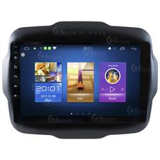 Autoradio Jeep Renegade Android Quadcore Fulltouch Wifi Gps Bluetooth Mirror Link Usb Mp3 Jfsound