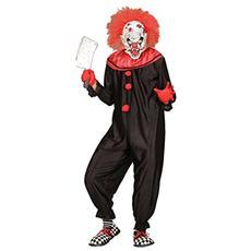 Costume da Uomo Killer Clown Taglia M