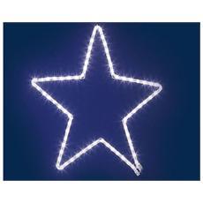 Stella di Natale Luminosa a Led Bianco 90 Luci Diametro 40 cm