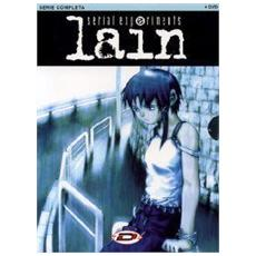 DVD SERIAL EXPERIMENTS LAIN (4DVDes. IVA)