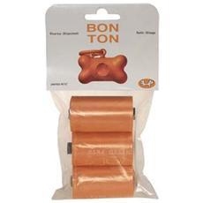 Bustine Bon Ton Ricarica Dispenser 3 Rotoli (10 bustine ognuno)