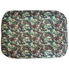 Cuccia / Tappeto / Materassino Militare Verde, Un Singolo Pezzo (86x56x6)