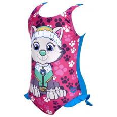 Costume Bambina Kg Paw Patrol Rosa Azzurro 4a / 5a