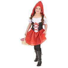JADEO - Costume Da Cappuccetto Rosso Per Bambina 10 A 12 Anni (l) 788c0f7c36f7