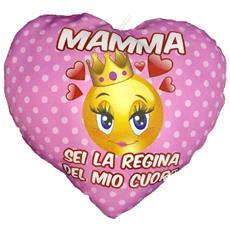 Cuscino Cuore Festa Della Mamma Sei La Regina Del Mio Cuore Ps 05902