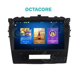 Autoradio Jfsound Suzuki Vitara Android Octacore Gps Bluetooth Mirror Link Airplay Mp3 Usb Wifi