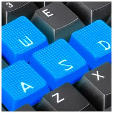 Tastiera Gaming USB Skiller Colore Nero (Layout Inglese)