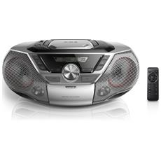 Audio portatile con potenza totale in uscita di 12W RMS Sintonizzazione digitale USB a 12W