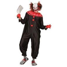 Costume da Uomo Killer Clown Taglia S