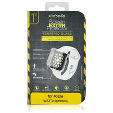Protezione Schermo in Vetro Temperato per Apple Watch 38 mm (1Pz)