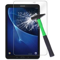 Pellicola Protettiva Display Glass Vetro Temperato Per Samsung Galaxy Tab A 10.1 Pollici 2016 Sm-t580 + Pannetto Pulisci Schermo