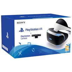 SONY - PlayStation VR - Visore per la Realtà Virtuale Ps4 + PlayStation Camera V2