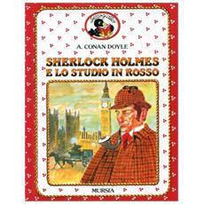 Sherlock Holmes e lo studio in rosso