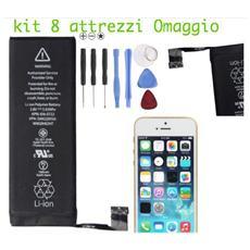Batteria Ricambio Sostituzione 1560 Mah Apple Iphone 5s Interna Attrezzi Omaggio