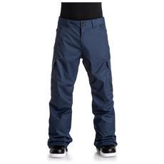 Pantalone Snowboard Uomo Banshee Blu M