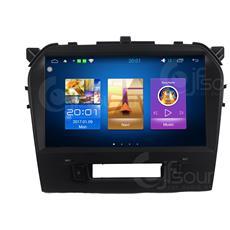 "Autoradio Suzuki Vitara 2016 Gps Bluetooth Android 6.0 Fulltouch 9"""" Mirror Link Usb Sd Mp3"
