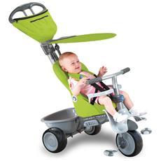 Triciclo Per Bambini 4 In 1 Verde Recliner