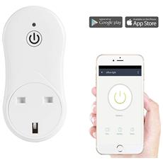 Presa Per Interruttore Di Comando A Distanza Smart Smart Plug Home Automation Con Presa Usb Spina Uk Per Iphone E Andoid Smartphone (adattatore Da Viaggio Europeo Per Regali)