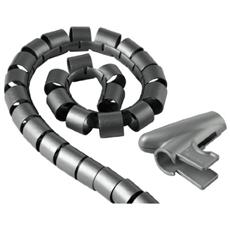 """Cable Bundle Tube """"Easy Cover"""", 1.5 m, 30 mm, silver"""