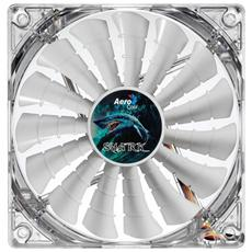 Shark Fan White Edition 12cm, Ventilatore, Computer case, 12 cm, Bianco, 0,30A, 3,6W