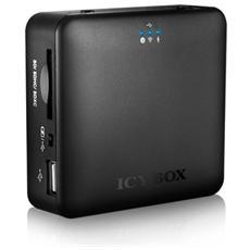IB-WRP201SD, SD, SDHC, SDXC, USB 2.0, Nero, 8,5 cm, 2,6 cm, 8 cm