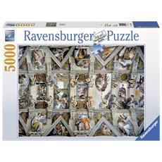 Puzzle 5000 Pezzi - La Cappella Sistina