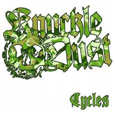 "Knuckledust - Cycles (Olive Green Vinyl) (7"")"