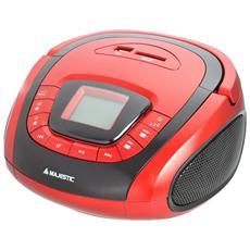 Radio Portatile Ah240 USB / AUX / Mp3 / Bluetooth Colore Rosso