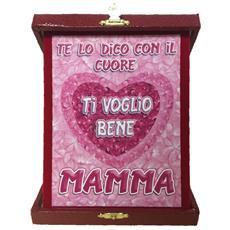 Targa Commemorativa Festa Della Mamma Ti Voglio Bene Ps 05895
