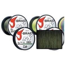 Trecciato J-braid 0,22 Mm 300 M Unica Verde