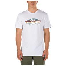 T-shirt Otw Logo Fill Bianco Fantasia S