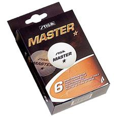 Master Confezione 6 Palline Ping Pong