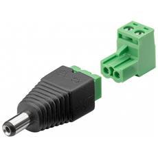 IADAP TB2-DC5521MR - Adattatore DC 5.5x2.10 mm Maschio Terminal Block 2 pin