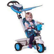 Triciclo Per Bambini 4 In 1 Blu Dream
