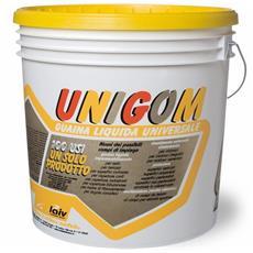 Guaina Liquida Impermeabilizzante Unigom Laiv colore Grigio 4 Kg