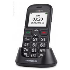 "BBM 320C Senior Phone Colore Nero Display 1.77"" Bluetooth con Tasti Grandi"