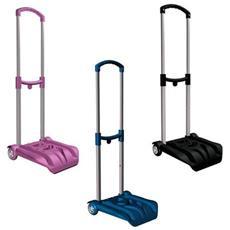 Carrello Porta Zaino Easy Trolley In Metallo E Plastica Colori Assortiti - Carrellino Portazaino 394031001