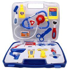 Set Valigia Dottore Giocattolo Con Accessori Forbici Stetoscopio Valigetta