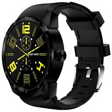 "Smartwatch K98H Resistente all'Acqua IP54 Display 1,3"" con Bluetooth Wifi per Cardiofrequenzimetro Nero - Europa"