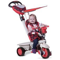Triciclo Per Bambini 4 In 1 Rosso Dream