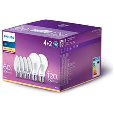 Kit di 2 Lampadine LED E27 18.5W + 4 Lampadine LED E14 7W