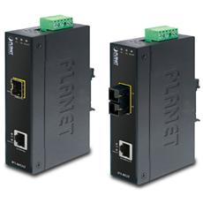 IFT-802T, IEEE 802.3, IEEE 802.3u, IEEE 802.3x, Fast Ethernet, 10BASE-T, 100BASE-TX, 100BASE-FX, Cablato, -40 - 75 °C