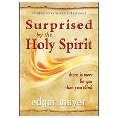Surprise by the holy spirit. There is more for you than you think