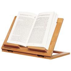 Leggio Regolabile e Pieghevole - Modello Reading Noce