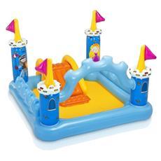 Play Center Castello per Bambini Giallo e Azzurro PVC 57138