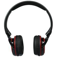 Cuffie con Microfono Bluetooth Studio Mix DJ Pro Colore Nero