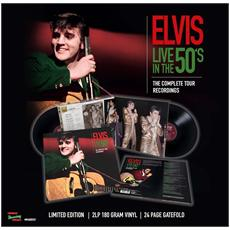 Elvis Presley - Live In The 50's - The Complete Tour Recordings (2 Lp +24 Page Gatefold)