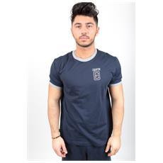 T-shirt Uomo Gymnasium Blu Grigio M