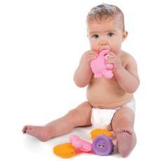 Bathtime Squirtees, Giochi per il bagno, Gift bag, Rosa, Porpora, Giallo